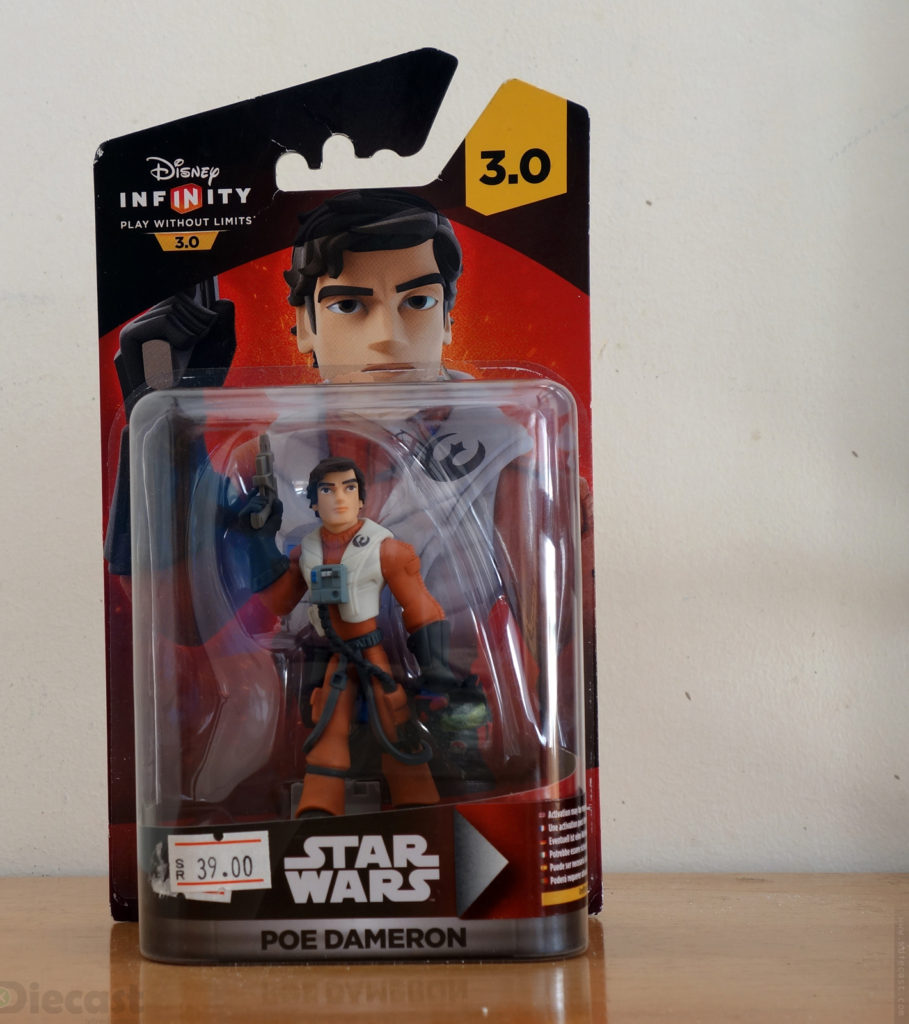Disney Infinity 3.0 Starwars Poe Dameron Figurine - Blister Package