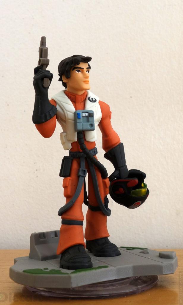 Disney Infinity 3.0 Starwars Poe Dameron Figurine