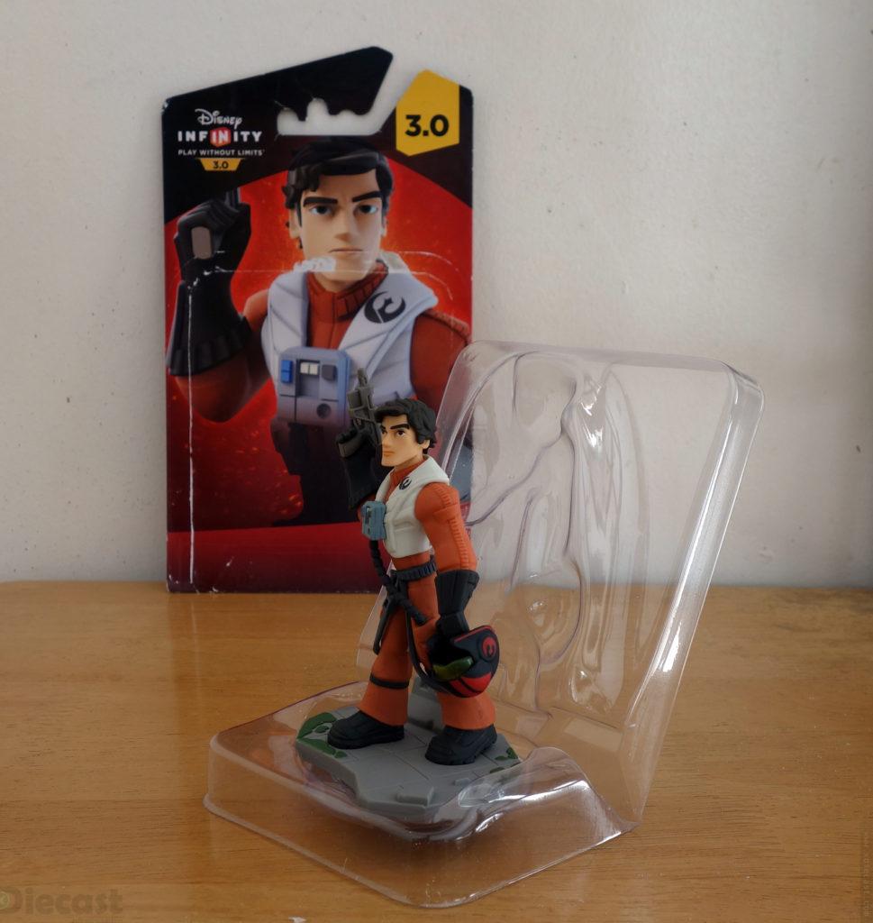 Disney Infinity 3.0 Starwars Poe Dameron Figurine - Blister Unboxed