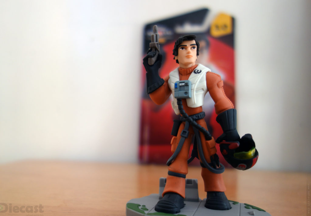 Disney Infinity 3.0 Star Wars Poe Dameron Figurine – Unboxed