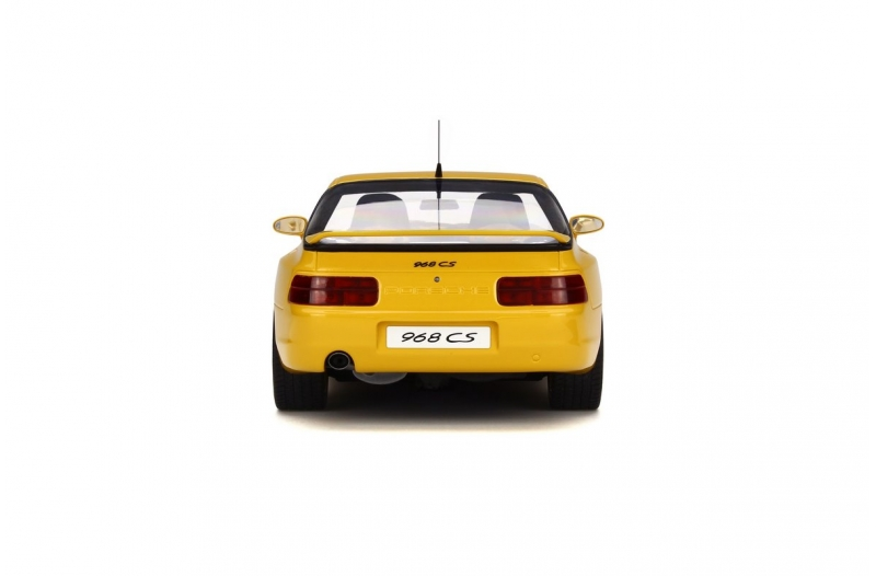GT Spirit 1:18 Porsche 968 Club Sport - Rear