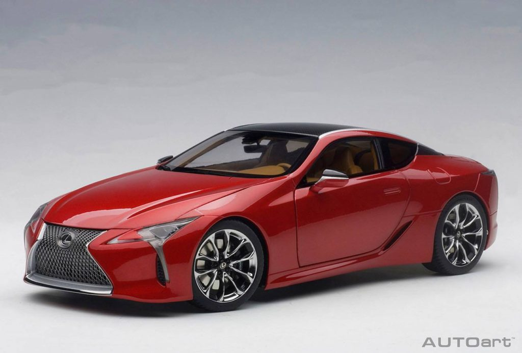 Autoart S 1 18 Lexus Lc500 Scheduled To Released In Third