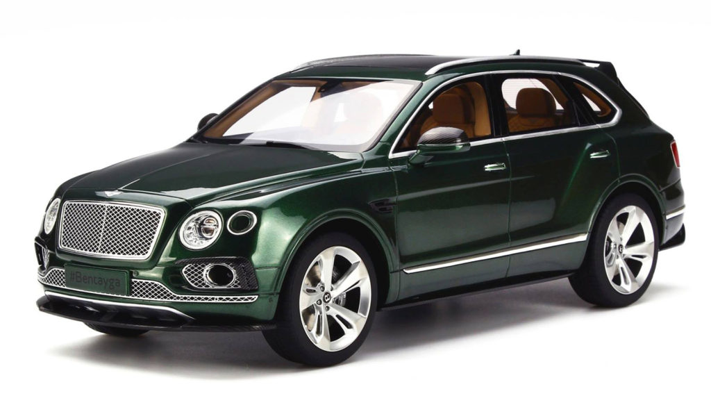 GT Spirit Models 1:18 Bentley Bentayga - Front