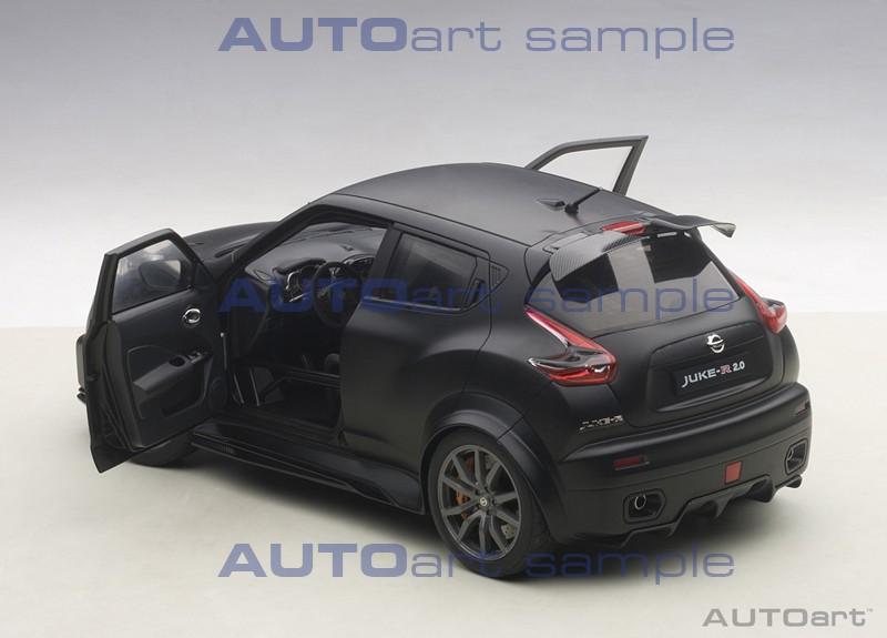 AUTOart Nissan Juke R - Rear 3/4