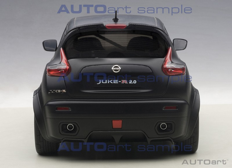 AUTOart Nissan Juke R - Rear