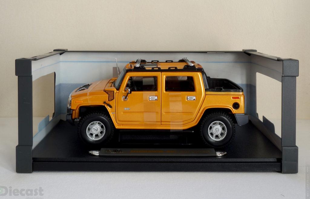 Maisto 1:18 Hummer H2 SUT - Inner Frame