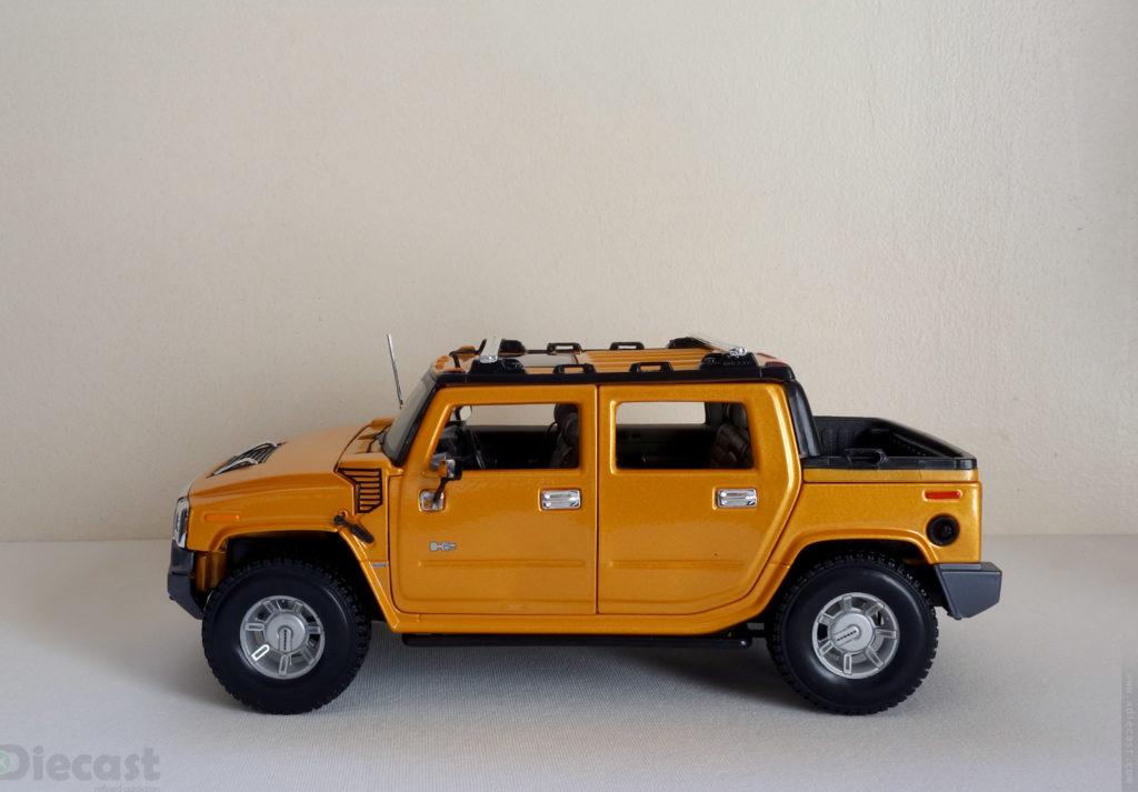 Maisto 1:18 Hummer H2 SUT - Profile