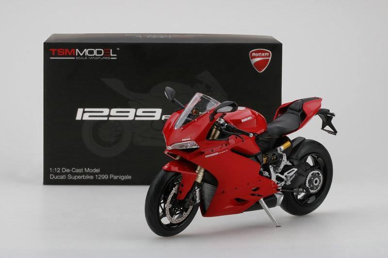 TSM 1:12 Ducati 1299 S - Box