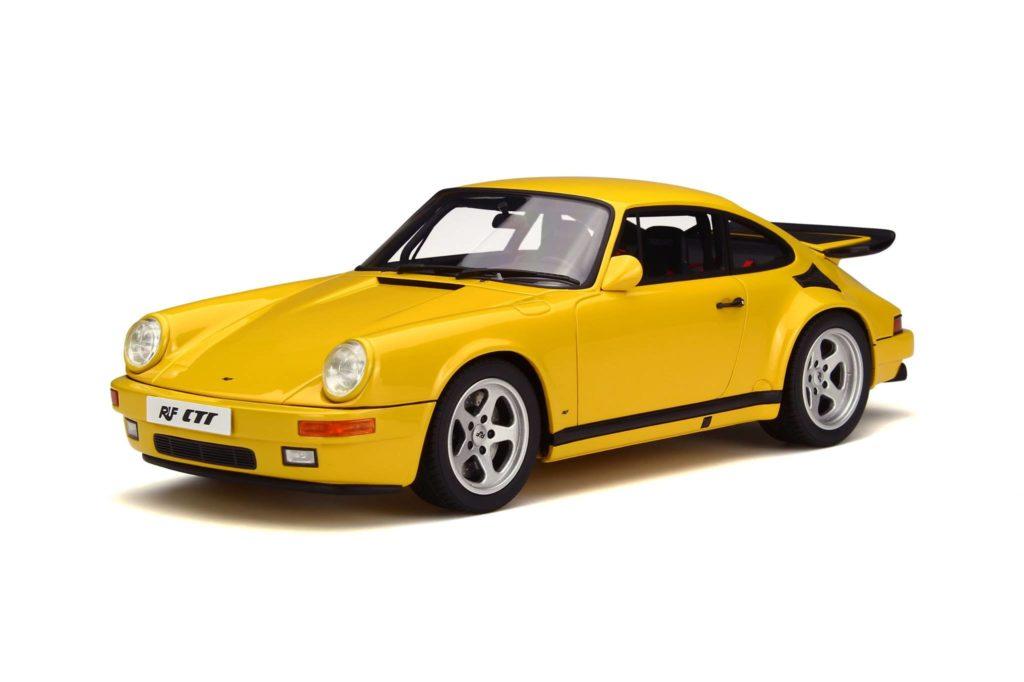 GT Spirit 1:18 Ruf Yellow Bird - Front