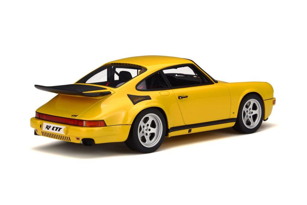 GT Spirit 1:18 Ruf Yellow Bird - Rear
