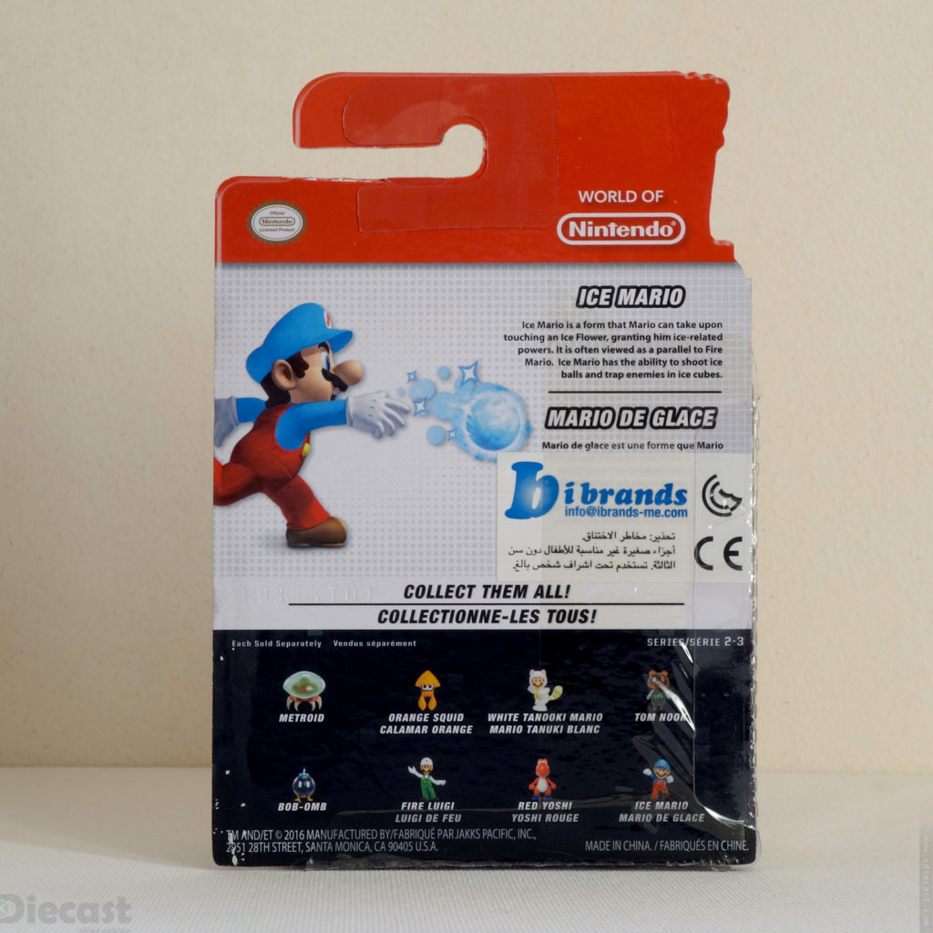 Nintendo Ice Mario - Package