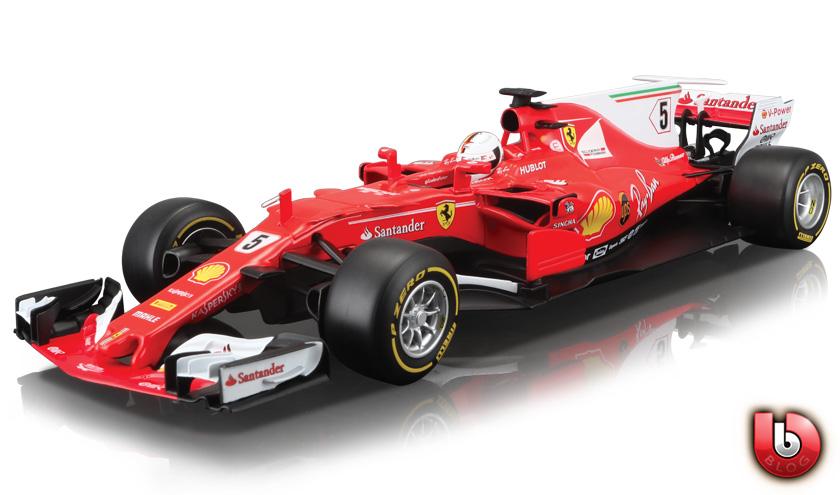 Bburago Kimi Raikkonen Ferrari SF70H