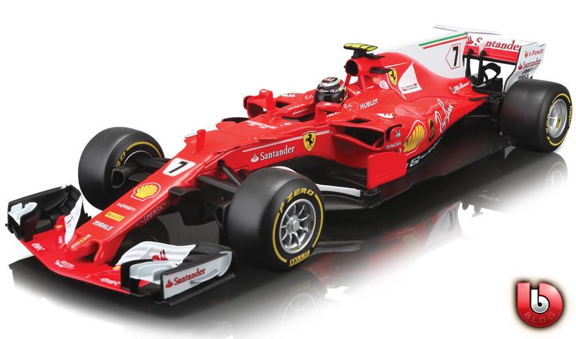 Bburago Sebastian Vettel Ferrari SF70H
