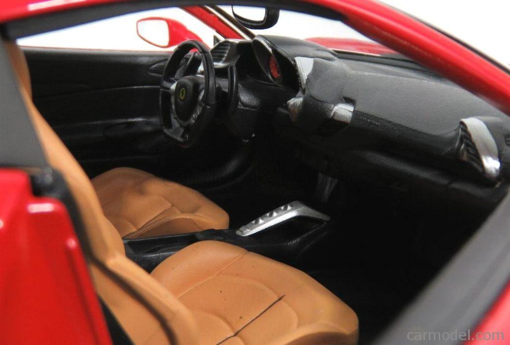 Bburago 1:18 Ferrari 488GTB 70th Anniversary The Schumacher - Seats