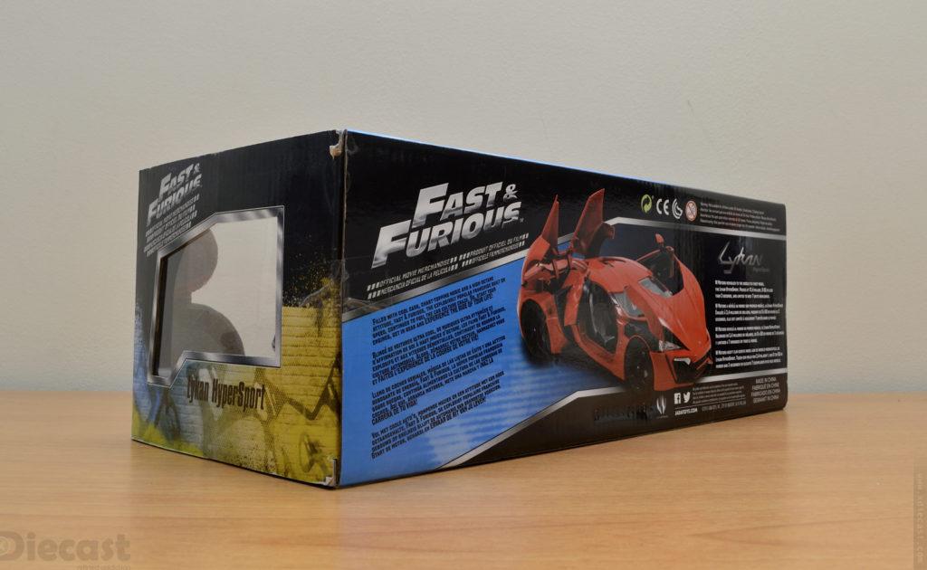 Jada 1:18 Lykan Hypersports - Box