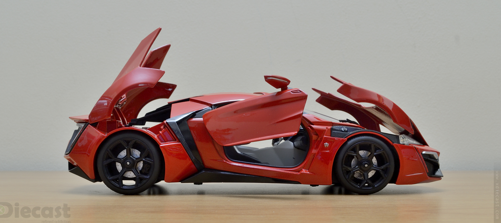 Jada Toys 1 18 Fast And Furious 7 Lykan Hypersport
