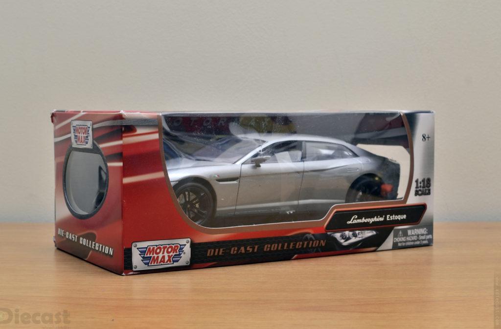 Motormax 1:18 Lamborghini Estoque - Package