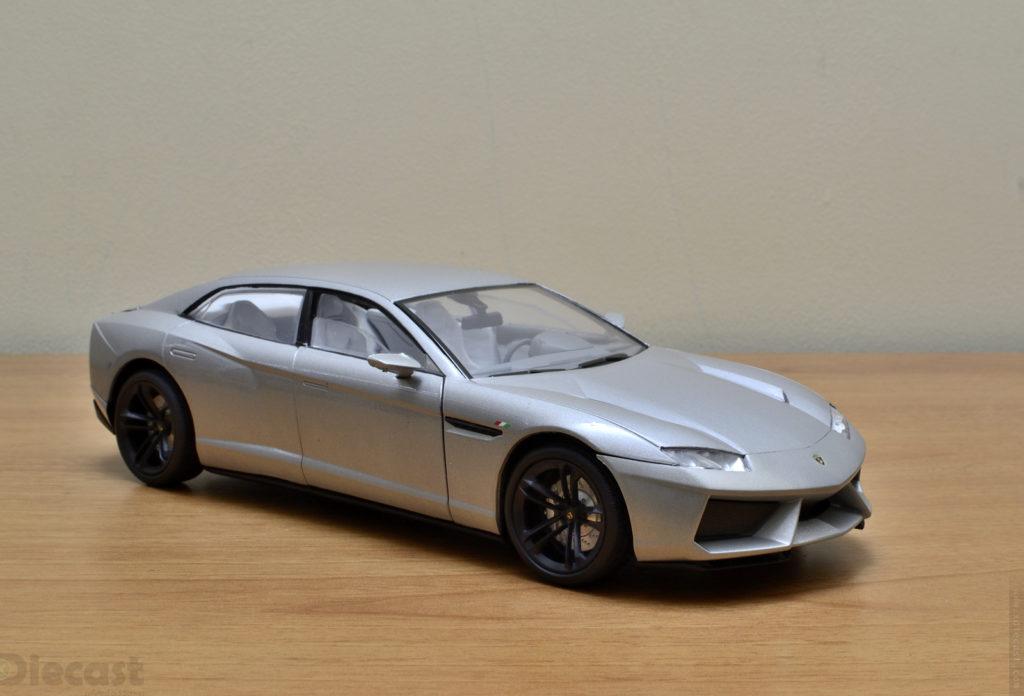Motormax 1:18 Lamborghini Estoque - Front