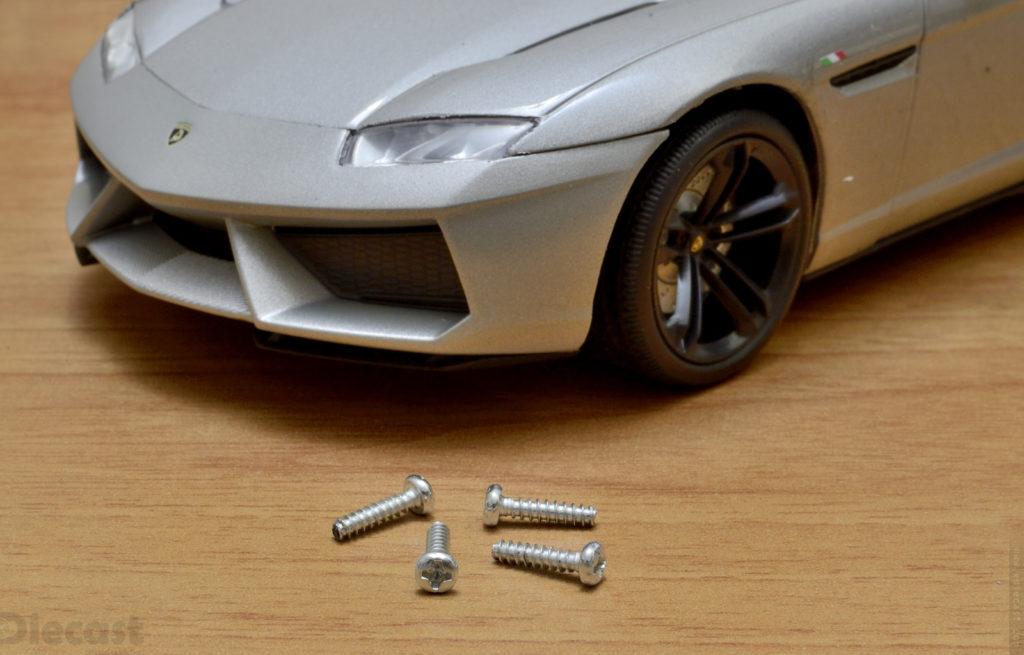Motormax 1:18 Lamborghini Estoque - Screws