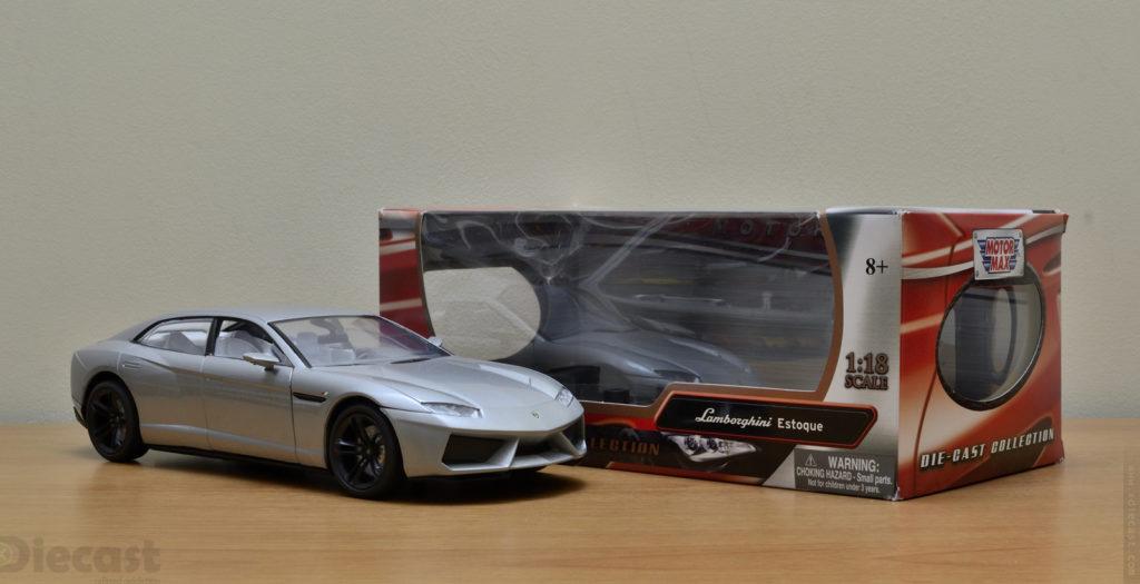 Motormax 1:18 Lamborghini Estoque - Unboxed