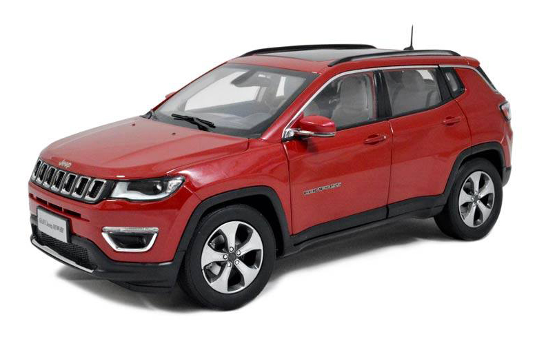 Paudi Models 2017 Jeep Compass - Red