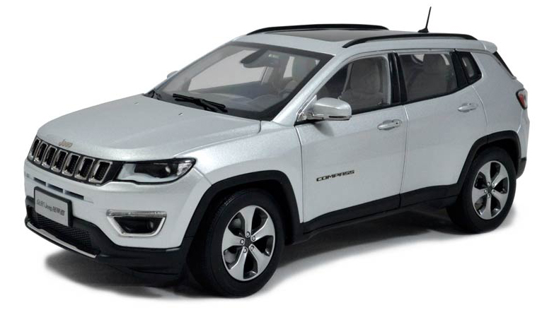 Paudi Models 2017 Jeep Compass - Front