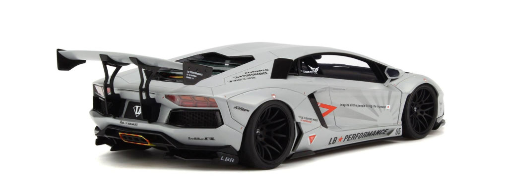 GT Spirit 1:18 LB Lamborghini Aventador - Rear