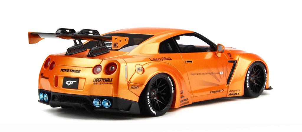 GT Spirit 1:18 LB Nissan GT-R - Rear