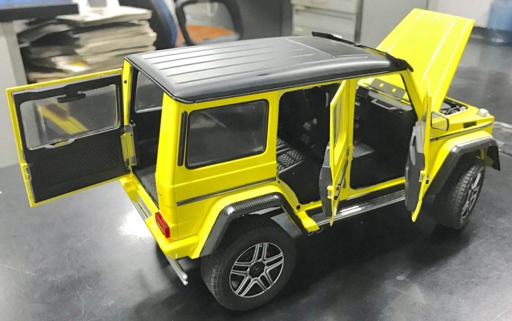 AUTOart 1:18 Mercedes Benz-G500 4x4 Squared - Doors