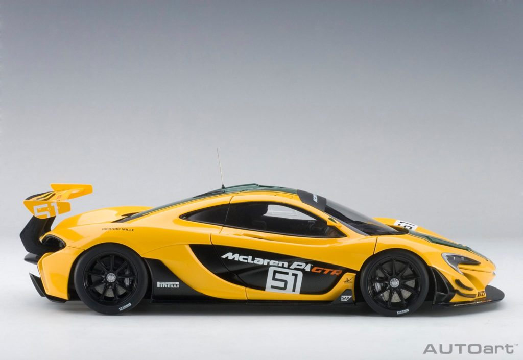 AUTOart McLaren P1 GTR - Profile