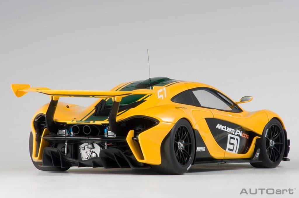 AUTOart McLaren P1 GTR - Rear