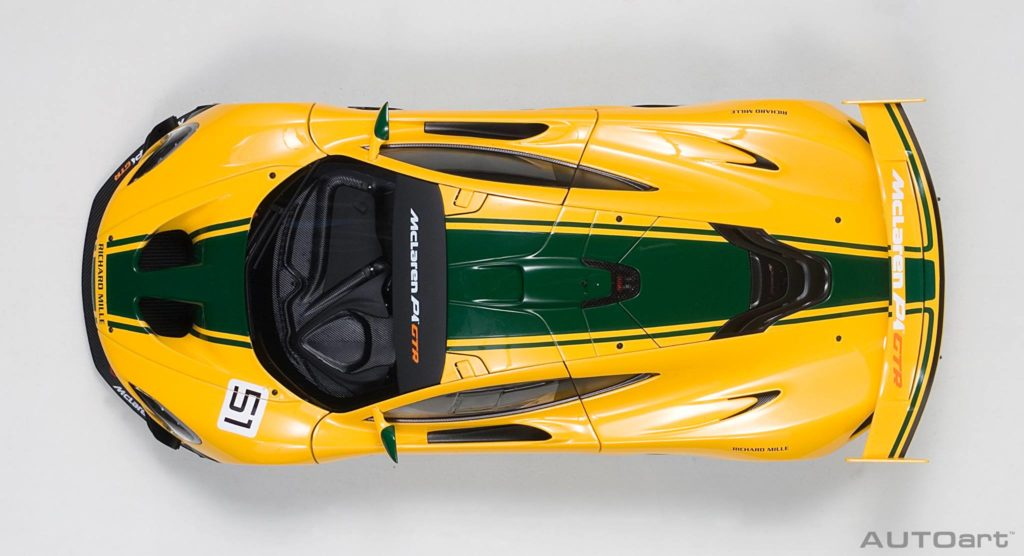 AUTOart McLaren P1 GTR - Top View