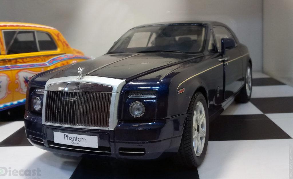 Kyosho Rolls Royce Phantom Coupe - Blue
