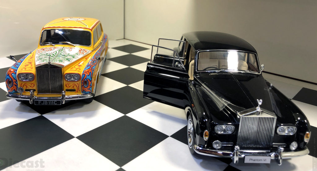Kyosho Rolls Royce Phantom  V and VI
