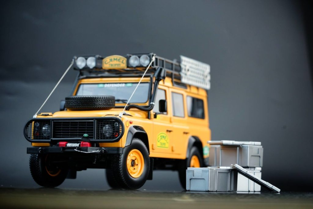 Almost Real To Bring In Land Rover Defender 110 90 Camel