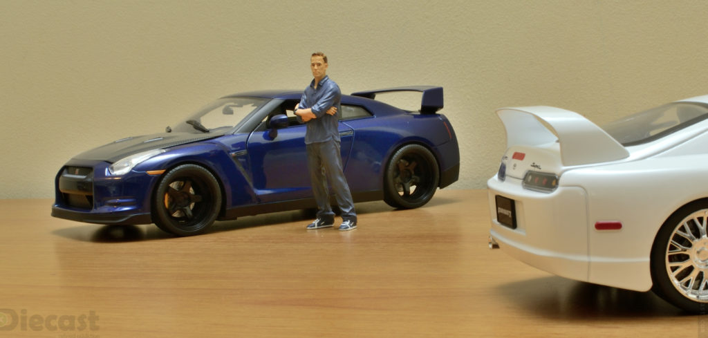 Jada 1:18 Brians Toyota Supra vs Nissan GT R