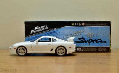 Jada 1:18 Brian's Toyota Supra Plain Body – Unboxed