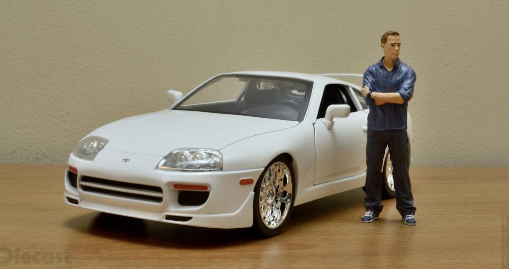 Jada 1:18 Brians Toyota Supra - Front