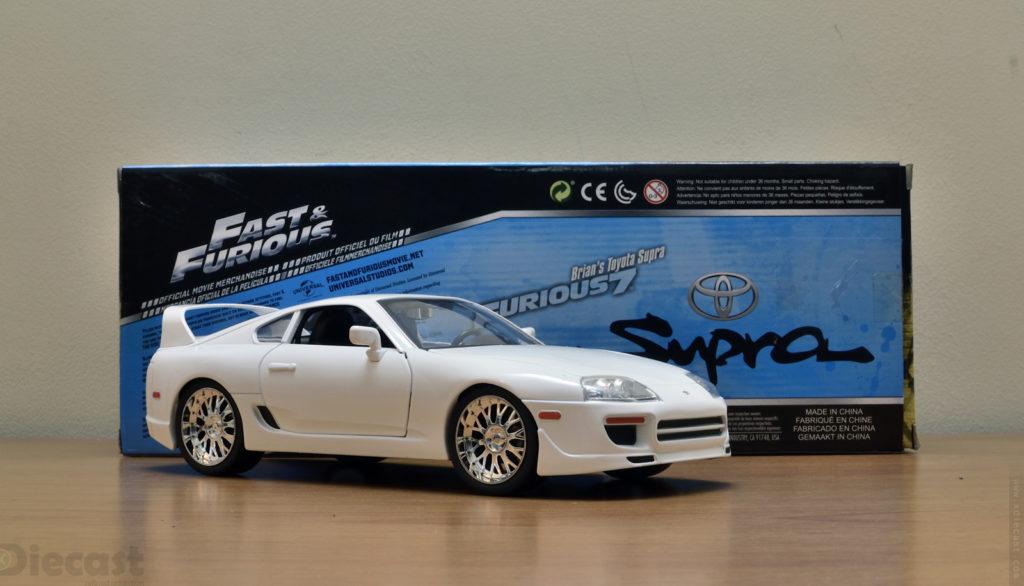 Jada 1:18 Brians Toyota Supra - Unboxed