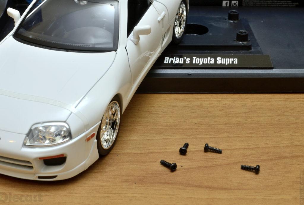 Jada 1:18 Brians Toyota Supra - Unboxing
