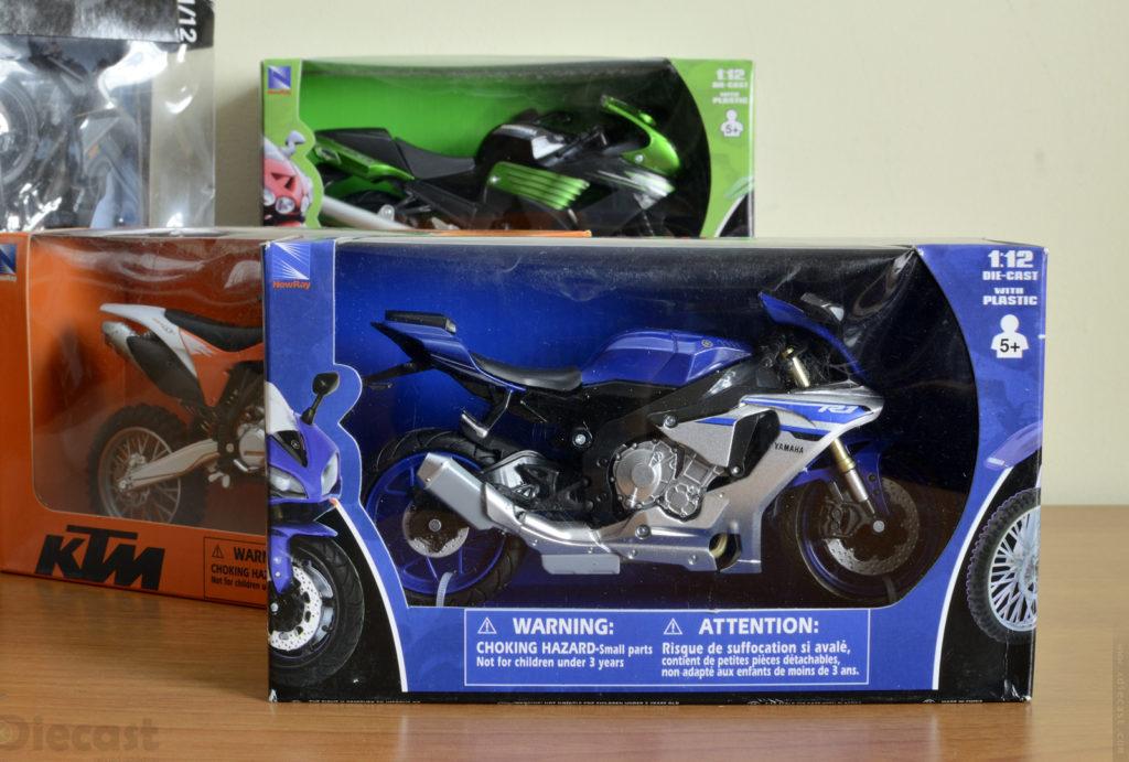 1:12 Newray Yamaha YZF R1