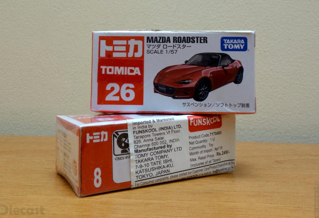 Tomica Mazda - Roadster