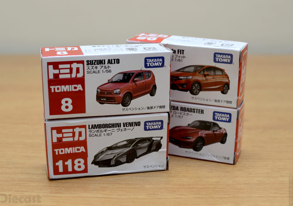 Tomica - Unboxing