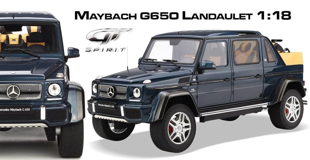 Mercedes Maybach G650 Landaulet - GT Spirit Model