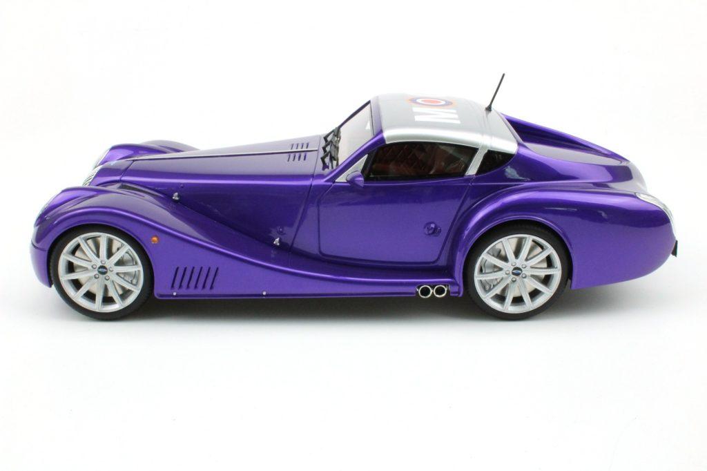 Top Marques Morgan Aero Supersport Purple - Profile