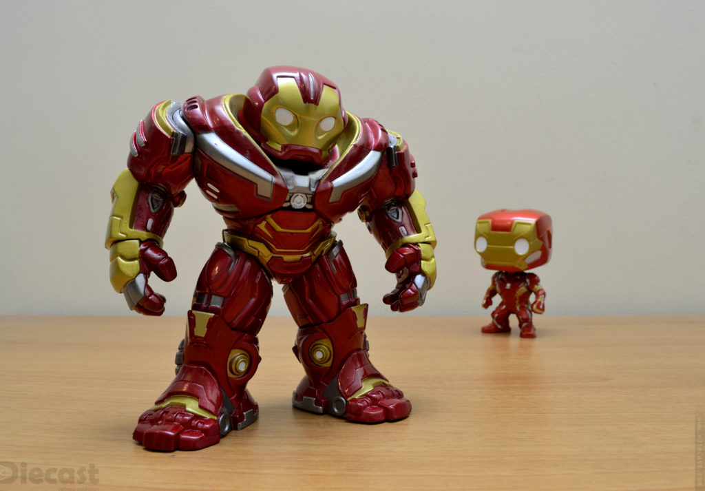Funko Pop Avengers Infinity War Hulkbuster vs Captain America Civil War Iron Man