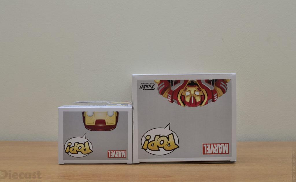 Funko Pop Avengers Infinity War Hulkbuster - Box Sizes