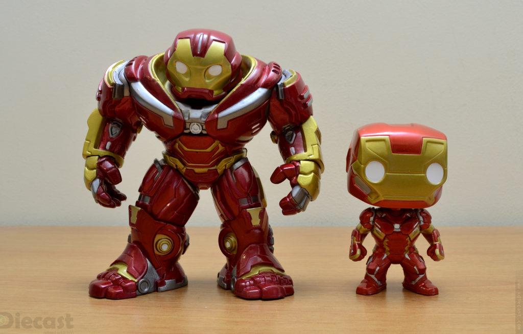 Funko Pop Avengers Infinity War Hulkbuster vs Captain America Civil War Iron Man