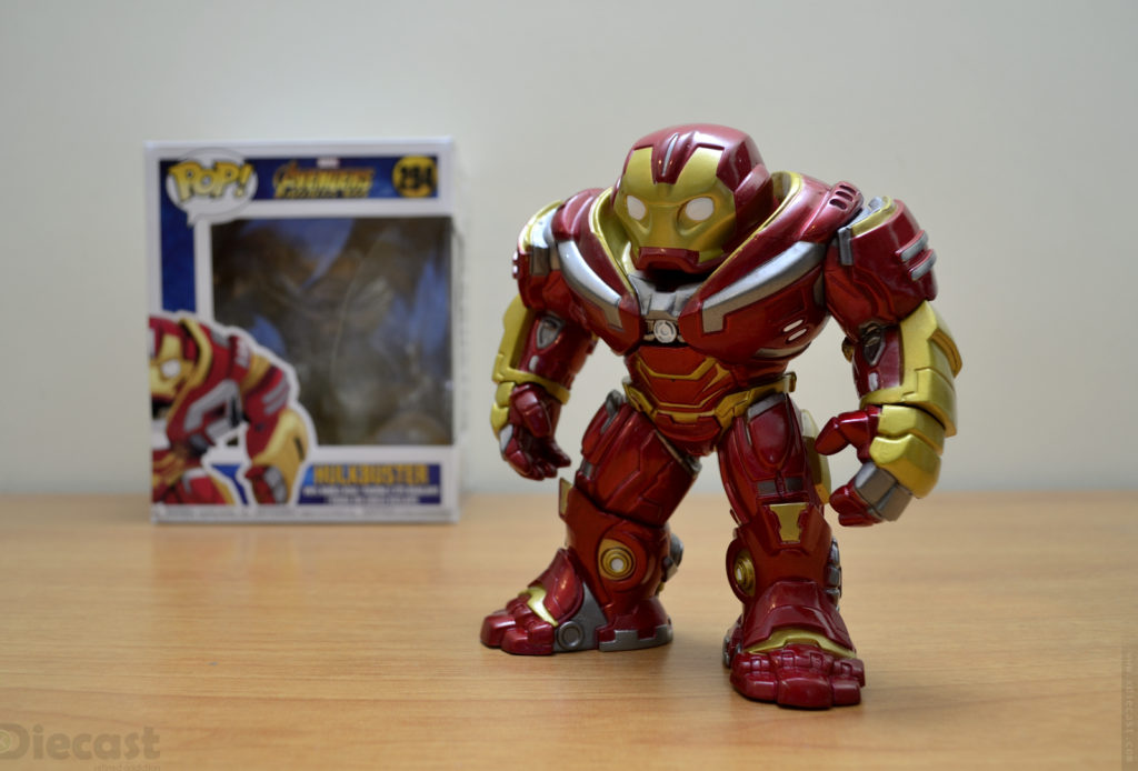 Funko Pop Marvel Avengers Infinity War Hulkbuster Booble Head – Unboxed