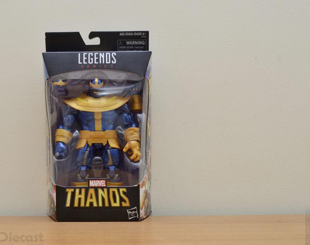 Marvel Legends Series Thanos Figurine - Box